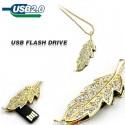 USB флашка бижу - листо