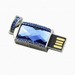 USB флашка бижу с кристали