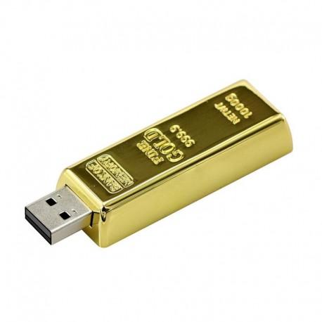 флашка златно кюлче