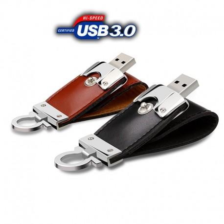 USB Флашка с естествена кожа