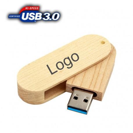 USB памет от дърво