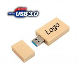 USB памет от бамбук или дърво